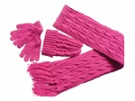 knitted scarves sets